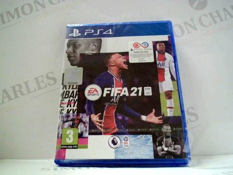 Lot 726 FIFA 21 PS4 RRP £70.00