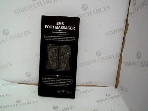 Lot 10525 BOXED DESIGNER EMS FOOT MASSAGER