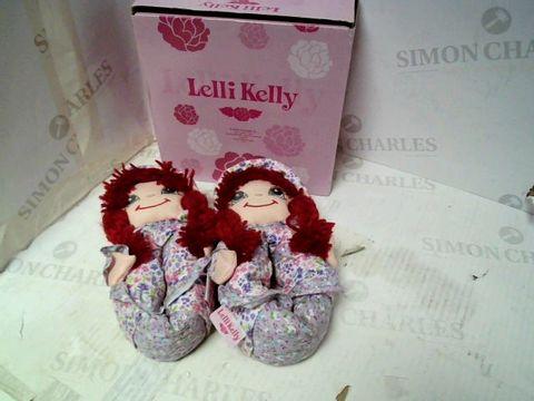 Lot 6048 LELLI KELLY ROSSA SLIPPERS UK BABY 10