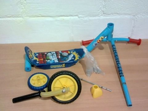 Lot 272 THOMAS AND FRIENDS MY FIRST TRI SCOOTER RRP £33.00