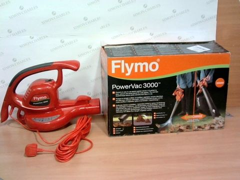 Lot 1496 FLYMO POWERVAC 3000