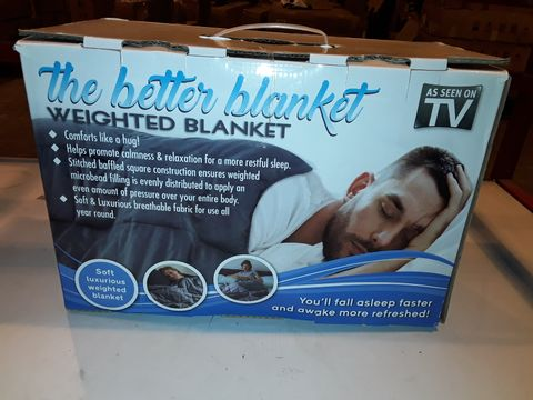 Lot 3236 THE BETTER BLANKET - WEIGHTED BLANKET