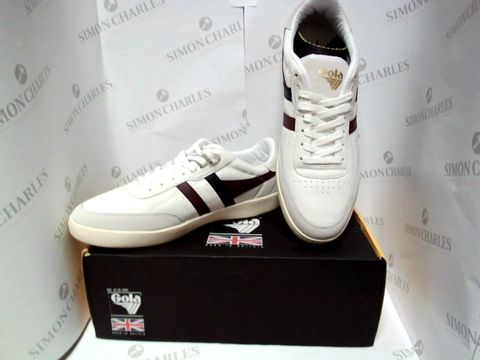 Lot 13086 BOXED PAIR OF DESIGNER GOLA TRAINERS - UK SIZE 10