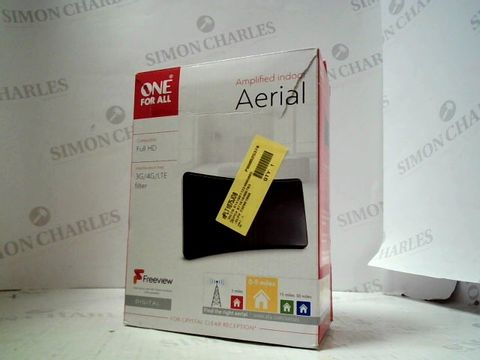 Lot 10695 ONE FOR ALL FULL HD AMPLIFIED INDOOR AERIAL