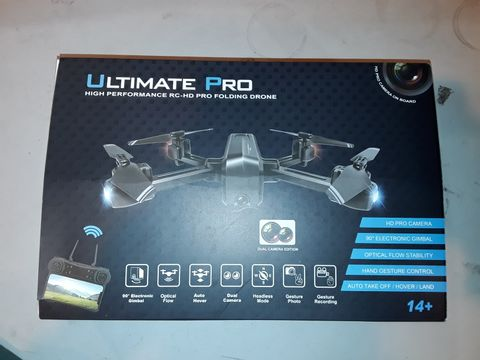 Lot 1081 ULTIMATE PRO HIGH PERFORMANCE FOLDING DRONE