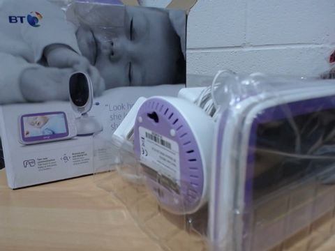Lot 661 BT VIDEO BABY MONITOR 6000 RRP £165.00
