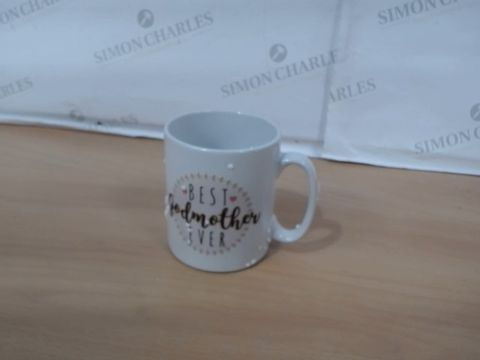 Lot 1047 PERSONALISED GODPARENT MUG RRP £24.00