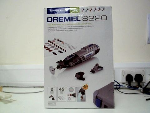 Lot 213 DREMEL 8220 CORDLESS ROTARY TOOL 12 V