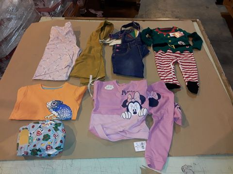 Lot 4052 CAGE OF ASSORTED UNPROCESSED KID'S CLOTHING PRODUCTS