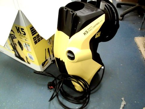 Lot 13469 KÄRCHER K5 PREMIUM FULL CONTROL PLUS HOME PRESSURE WASHER