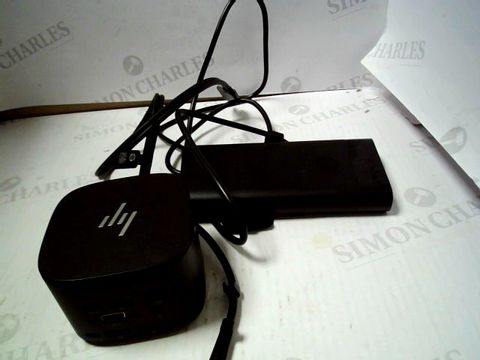 Lot 7251 HP HP THUNDERBOLT DOCK 230W G2 EURO , BLACK