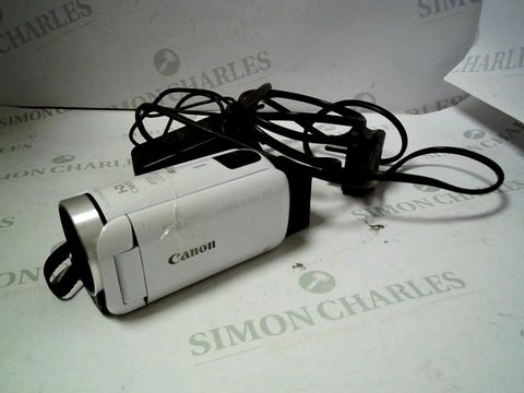 Lot 4059 CANON LEGRIA HFR806 CAMCORDER KIT RRP £369.00