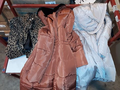 Lot 1207 LOT OF 8 ASSORTED COATS AND JACKETS