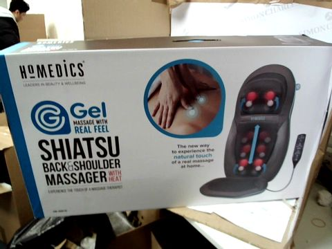 Lot 10326 HOMEDICS SHIATSU BACK & SHOULDER MASSAGER WITH HEAT