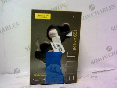 Lot 607 BOXED JABRA ELITE 65T BLUETOOTH HEADPHONES