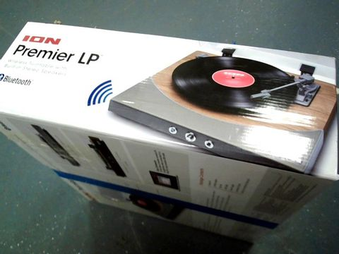 Lot 8406 ION PREMIER LP WIRELESS TURNTABLE WITH BLUETOOTH