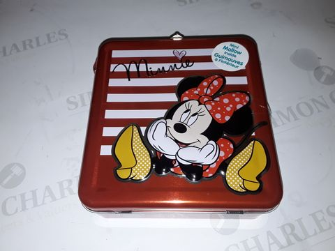 Lot 8072 LOT OF 12 MINNIE MOUSE MALLOW FILLED CARRY TINS