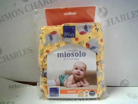 Lot 1623 REUSABLE MIOSOLO ALL-IN-ONE NAPPY