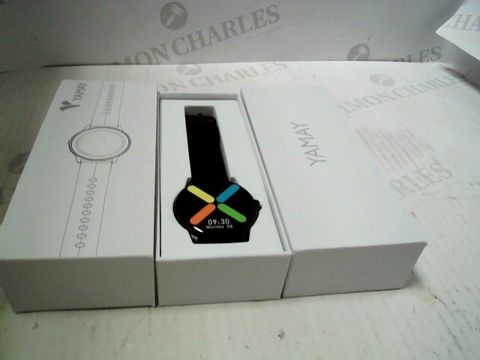 Lot 3186 BOXED YAMAY SMARTWATCH