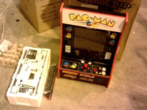 Lot 11342 ARCADE1UP PAC-MAN PARTY-CADE