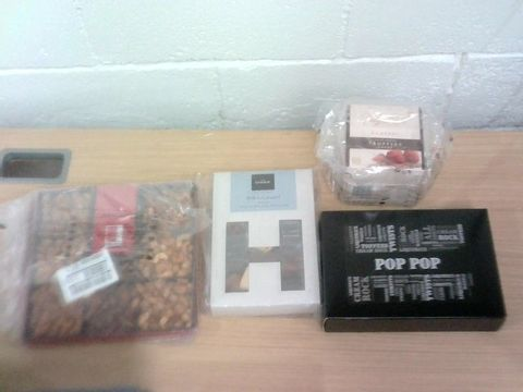 Lot 24 BOX OF ASSORTED CONFECTIONARY ITEMS - RITE FAHRI, HOTEL CHOCOLAT, BELIGAN OR, LIQUORICE COLLECTION