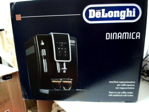 Lot 228 DELONGHI DINAMICA BEAN TO CUP COFFEE MACHINE RRP £829.99