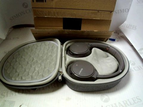 Lot 7297 SONY WH-CH700N WIRELESS BLUETOOTH NOISE CANCELLING HEADPHONES - GREY