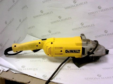 Lot 13269 DEWALT DWE490-GB DWE490 230MM ANGLE GRINDER