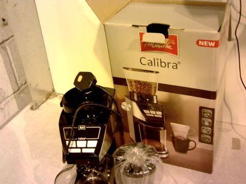 Lot 12089 MELITTA CALIBRA COFFEE MACHINE