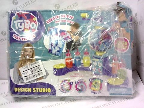 Lot 5410 TYBO TIE DYE DESIGN STUDIO  RRP £31.99