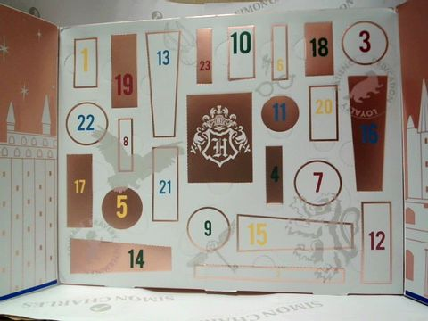 Lot 8127 WIZARDING WORLD - HARRY POTTER ADVENT CALENDER