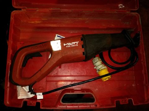 Lot 4 HILTI RECIPROCATING SAW 110V