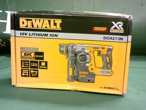 Lot 9085 DEWALT DCH273N 18V XR LI-ION SDS PLUS ROTARY HAMMER DRILL