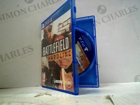 Lot 61 BATTLEFIELD HARDLINE PLAYSTATION 4 GAME