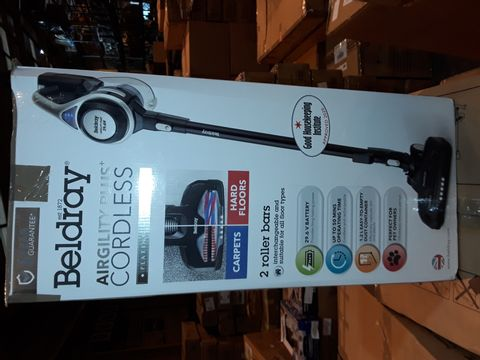 Lot 8279 BELDRAY AIRGILITY + CORDLESS VACUUM CLEANER