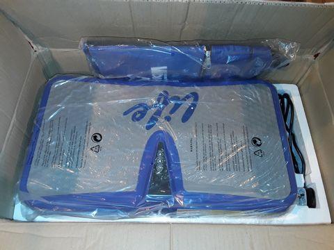 Lot 1137 VIBRAPOWER LIFE EXERCISE MACHINE - BLUE