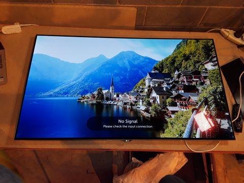 Lot 105 LG OLED55B6V 55 INCH 4K ULTRA HD OLED FLAT SMART TV