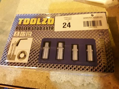 Lot 24 TOOLZONE ROLLE4 STUD EXTRACTOR KIT