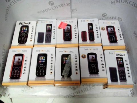 Lot 7166 LOT OF APPROXIMATELY 10 ASSORTED BEAFON MOBILE PHONES