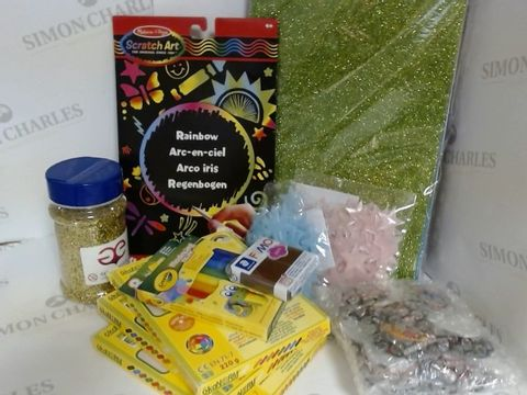 Lot 1529 ASSORTED CRAFT ITEMS