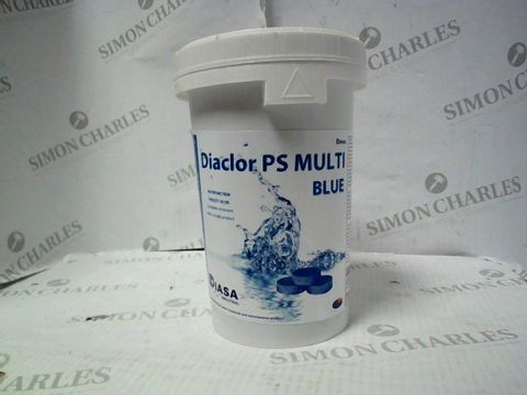 Lot 7641 DIACLOR PS MULTI BLUE POOL WATER TREATMENT TABLETS 1KG