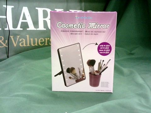 Lot 4158 LED LIGHT UP COSMETIC MAKE UP MIRROR