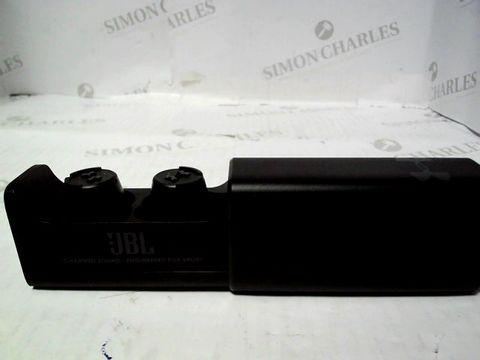 Lot 795 JBL UA TRUE WIRELESS FLASH X - UNDER ARMOUR IN-EAR, WATERPROOF HEADPHONES FOR SPORT, IN BLACK