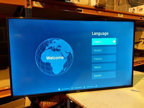 Lot 2078 HISENSE LED BACKLIGHT TV