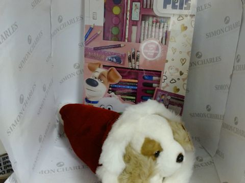 Lot 17136 ART PACK AND BEAR NECESITIES PLUCH TOY