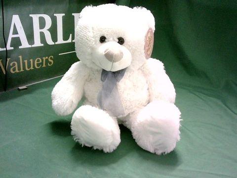 "Lot 6205 MIRI MOO OFF WHITE 12"" TEDDY BEAR"