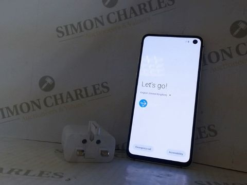Lot 4209 UNBOXED SAMSUNG S10E 128GB ANDROID SMART PHONE - CANARY YELLOW