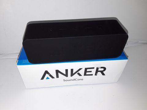 Lot 4244 ANKER SOUNDCORE BLUETOOTH SPEAKER PORTABLE BLUETOOTH 4.0 STEREO SPEAKER