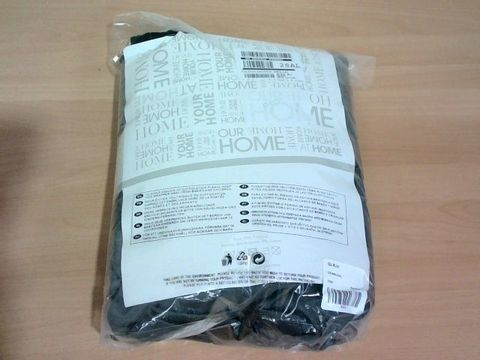 Lot 277 BAILEY PINSONIC DUVET COVER - CHARCOAL DOUBLE RRP £59.99