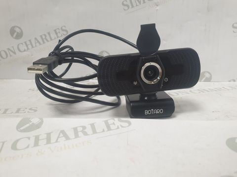 Lot 13090 BOTARO USB WEBCAM - BLACK